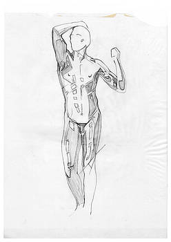 David Hargreaves - The Modern Age - Homage Rodin