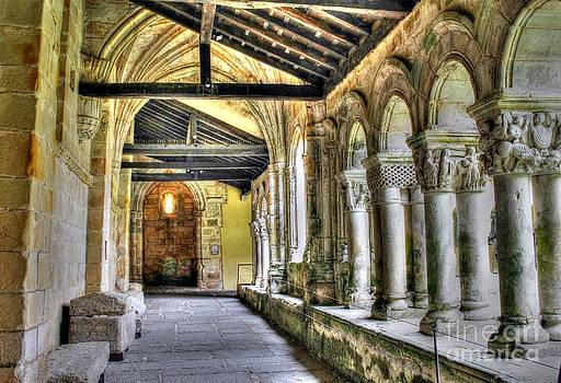 The Monastery Corridors by Ines Bolasini