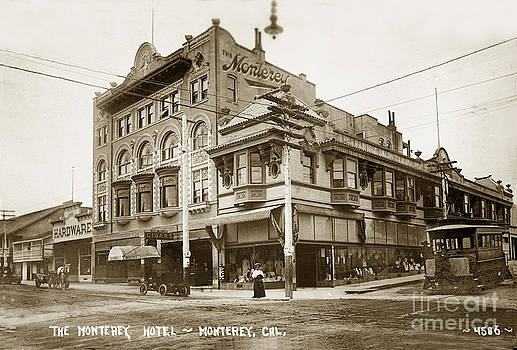California Views Mr Pat Hathaway Archives - The Monterey Hotel 1904 the Goldstine Block Building 1906 Photo