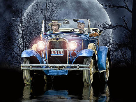 The Moonlight Cruise ..... by Rat Rod Studios