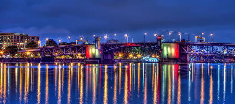 Thom Zehrfeld - Morrison Bridge Reflections