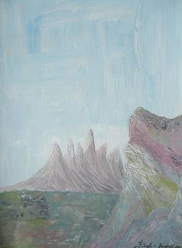 The Mountain Gleam by Fladelita Messerli-