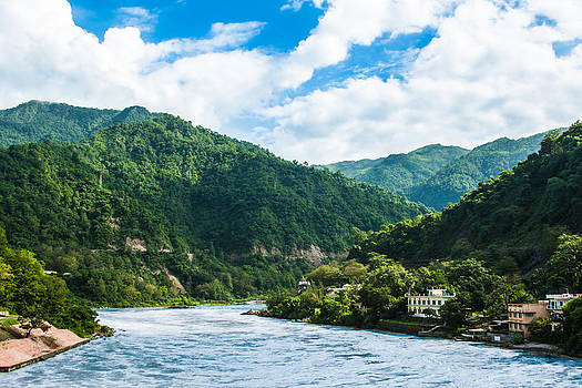 The Mountain Valley of Rishikesh by Nila Newsom