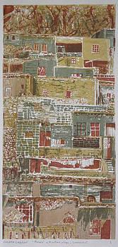 The Mountain Village by Ousama Lazkani