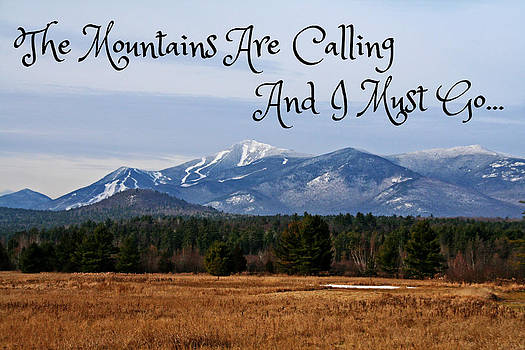 The Mountains Are Calling by Heather Allen