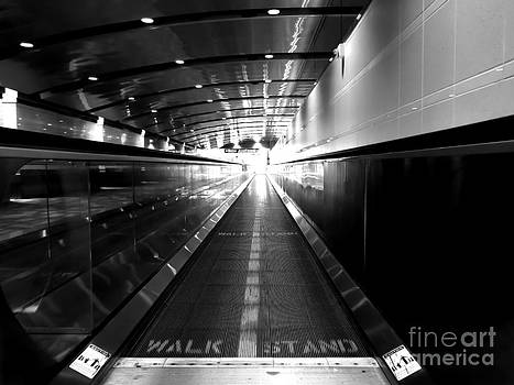 The Moving Walkway by Bob Mintie