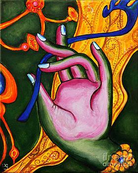 The Mudra of Green Tara by Peta Garnaut