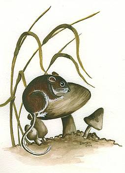 The Mushroom Mouse by Lori Ziemba