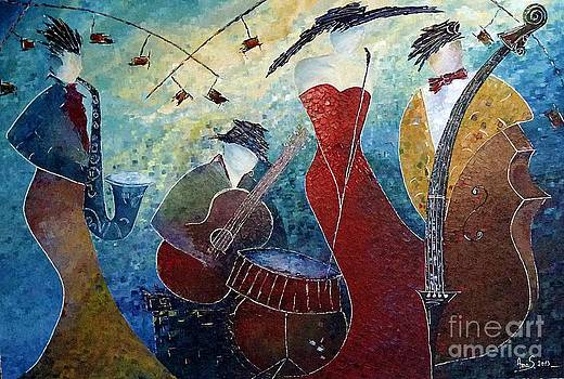 The Music Never Stopped 2 by Amalia Suruceanu