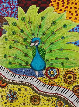 The musical Peacock by Alexandra Benson