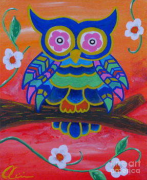 The Narcissistic Owl  by M Oliveira