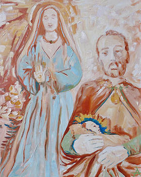 The Nativity by Azhir Fine Art