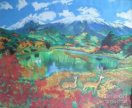 The Nature by Artist Nandika  Dutt