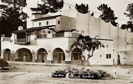 California Views Mr Pat Hathaway Archives - The New Carmel Theatre on Ocean Ave. 1939
