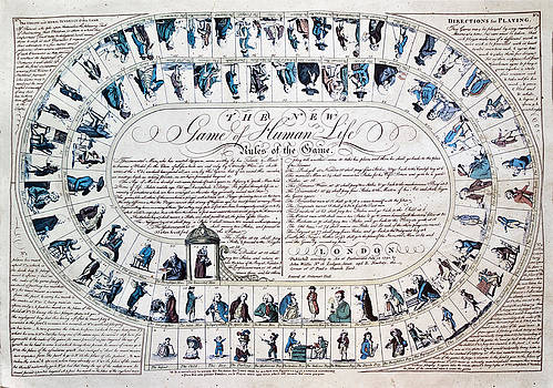 The New Game of Life 1790 by John Hix