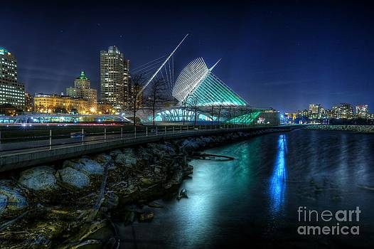 The Night Shore at Milwaukee by John December