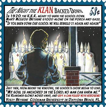 The Night the Klan Backed Down by Warren Clark