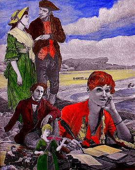 The Novelist II by Patrick Lynch
