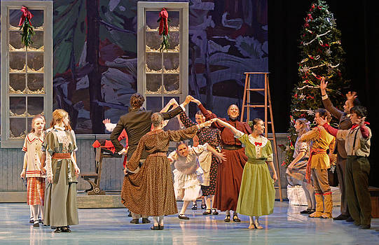 The Nutcracker Ballet 6 by Cheryl Cencich