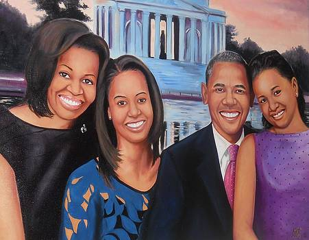 The Obamas 2013 by Harry T Ellis