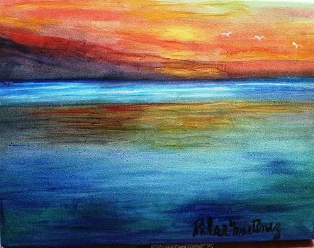 The Ocean by Pilar  Martinez-Byrne