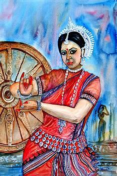 The Odissi Dancer by Shashikanta Parida