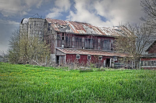 The Old Barn by Cheryl Cencich