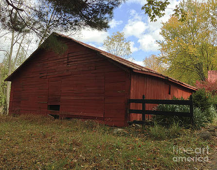 The Old Barn by Iris Posner