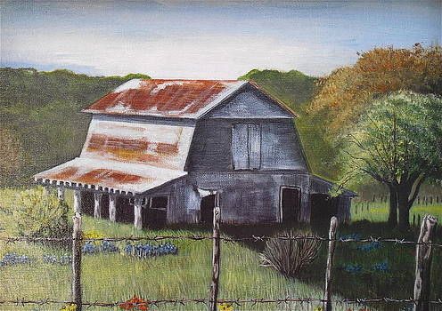 The Old Barn by Melissa Torres