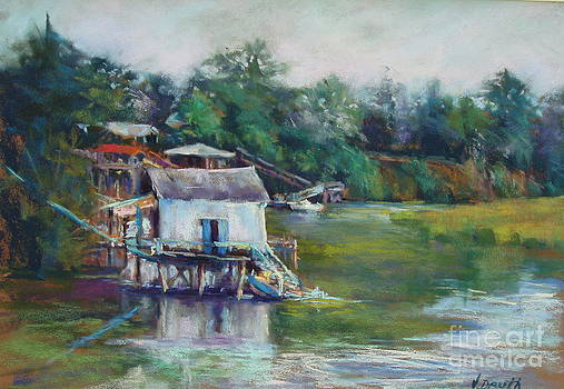The Old Boat House by Virginia Dauth