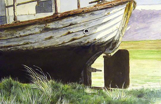 The Old Boat by Sigurdur Aegisson