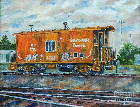 The Old Caboose by William Reed