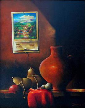 The old calendar by Julio Ortiz