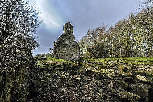 The Old Church of Ness by Terry Cosgrave