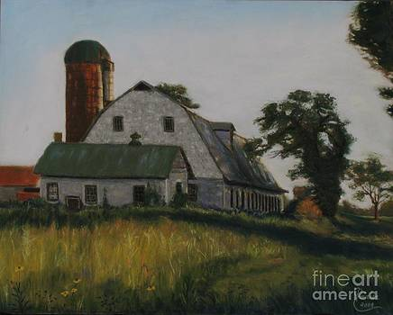 The Old Farm in Fredrick Maryland by Janet Poirier