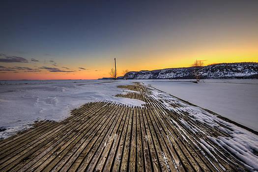 The old fishing dock by Jakub Sisak