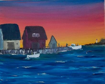 The Old Fishing Wharf by Tony  DeMerchant