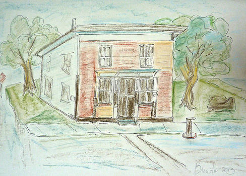 The Old General Store by Brenda Ruark