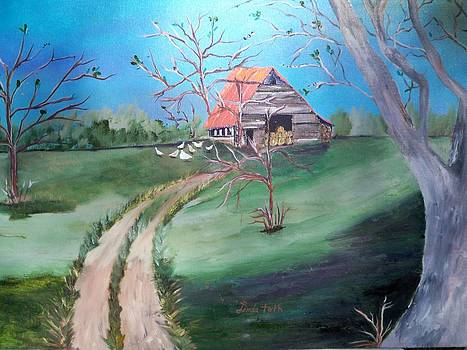 The Old Hay Barn by Linda Bright Toth