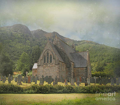 The Old Highland Church by Roy  McPeak