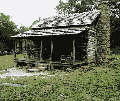 The Old Homeplace by Johanna Elik