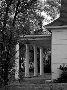 Joyce Dickens - The Old Homestead In Black and White