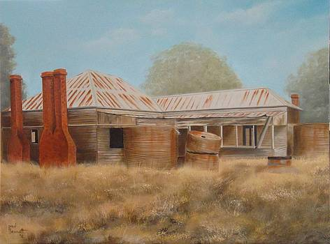 The Old Homestead by Paul Bennett