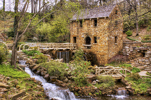 Jason Politte - The Old Mill and the Waterfall