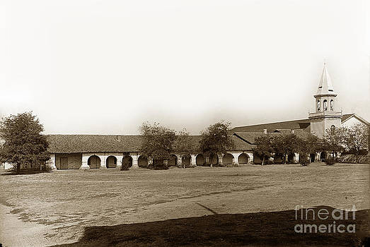 California Views Mr Pat Hathaway Archives - The Old Mission San Juan Bautista circa 1907