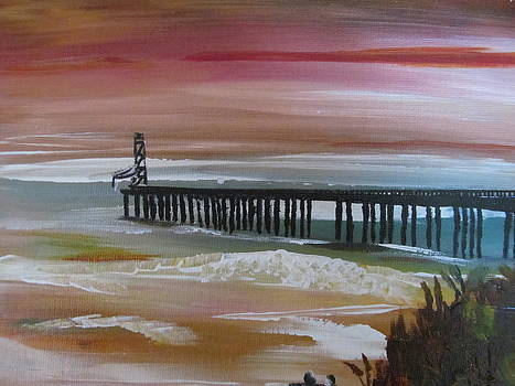 The Old Pier by Susan Voidets