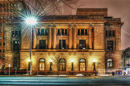 The old Post Office by Dan Quam