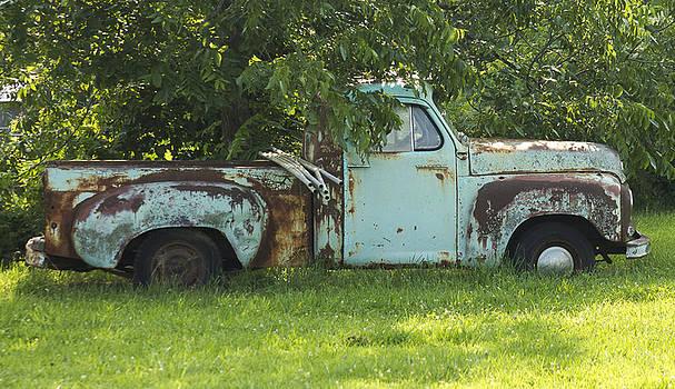 The old retired truck by Danielle Allard