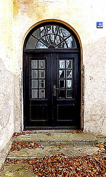 The Old School Entrance by The Creative Minds Art and Photography