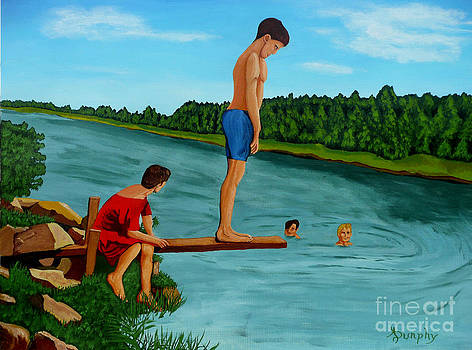 The Old Swimming Hole by Anthony Dunphy